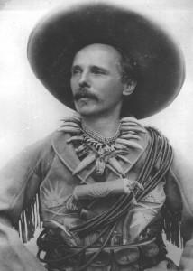 May verkleidet als Old Shatterhand, 1896