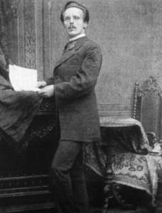 Der Redakteur Karl May, Aufnahme von 1875